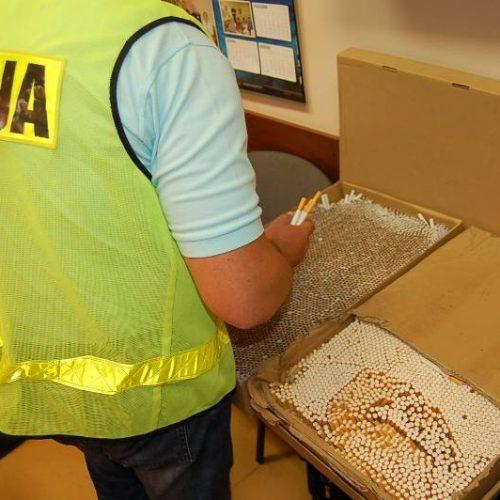 Handlarz papierosami bez akcyzy zatrzymany przez krakowskich policjantów