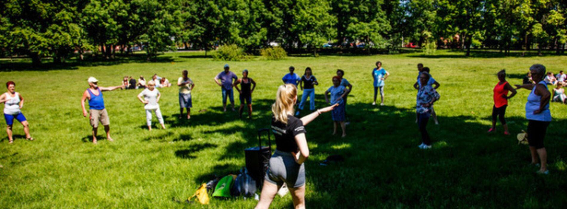 Aktywny Ostrów – seniorzy po pierwszym treningu
