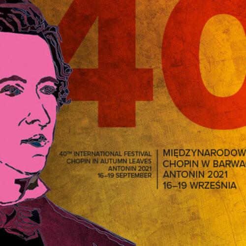 """40. Festiwal """"Chopin w barwach jesieni"""""""